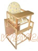 87f87bf8efeb Drevená stolička BooBoo KOMBI